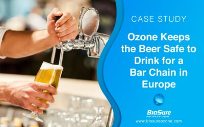 Ozone Keeps the Beer Fresh and Safe to Drink for a Bar Chain in Europe