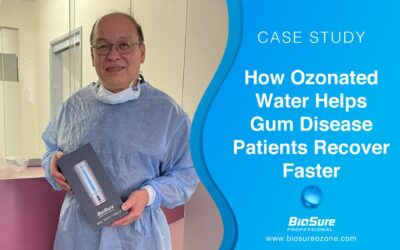 Ozonated Water Helps Gum Disease Patients Recover Faster