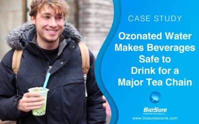 BioSure Provides Safe Ice and Beverages to a Major Tea Chain